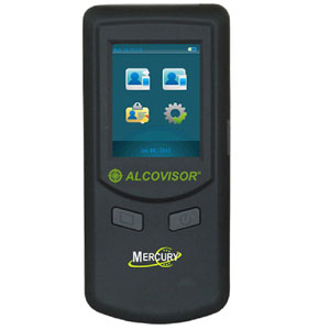Alcovisor Mercury Full Pro Fuel Cell Breathalyser (No Printer)