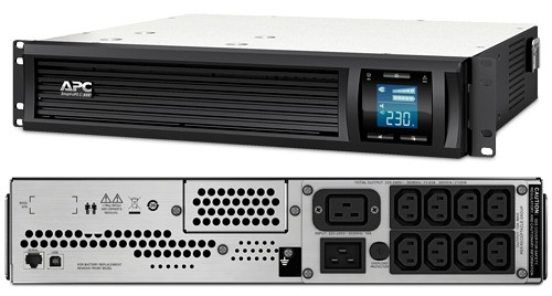 APC Smart-UPS C 3000VA Rack mount LCD 230V