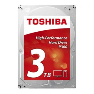 Toshiba Internal HDD :: P300-3TB-72RPM SATA-3.5""